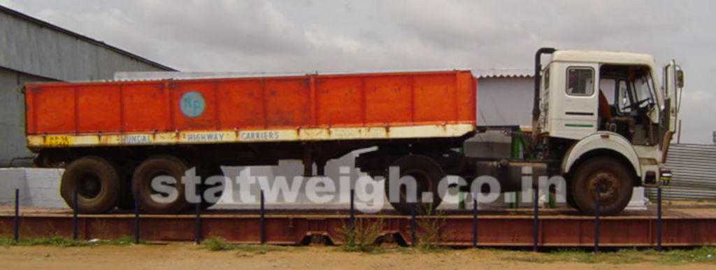 Electronic Weighbridge Manufacturer India :: Pit type